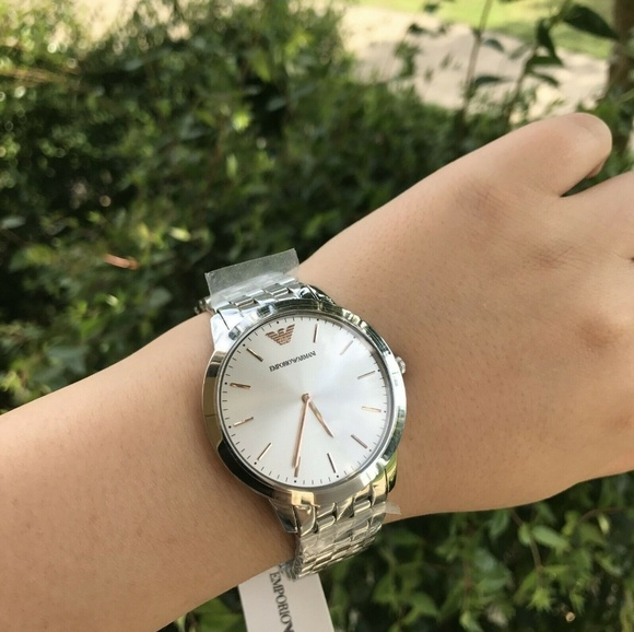 15d9689a Emporio Armani Men's Retro Stainless Watch AR2484 NWT